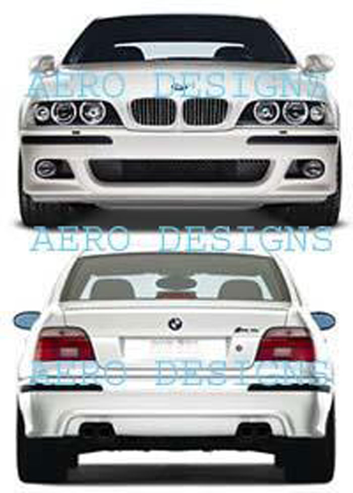 97 98 99 00 01 02 03 bmw e39 m5 body kit 525i 530i 540i ebay. Black Bedroom Furniture Sets. Home Design Ideas